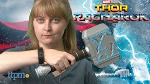 thor ragnarok rumble strike hammer from hasbro youtube