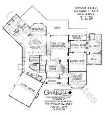 open floor house plans with photos leyland manor ii house plan house plans by garrell associates inc
