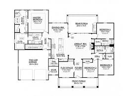 4 Bedroom Floor Plans For A House Best 25 One Story Homes Ideas On Pinterest Great Rooms Yellow