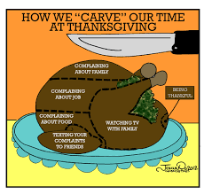 carving the turkey by johnnycartoons media culture