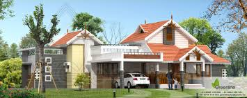 traditional single floor kerala house elevation at 1900 sq ft