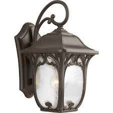 Carriage Lights Lowes by Shop Progress Lighting Enchant 15 12 In H Espresso Outdoor Wall