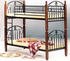Wood And Metal Bunk Beds 310434 Wooden Metal Bunk Bed End 8 10 2018 8 13 Pm