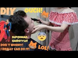 Challenge Is It Cuts Husband S Hair Challenge Is It Superman Hairstyle Lol