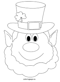 leprechaun coloring pages printable free leprechaun coloring pages a leprechaun coloring pages girl