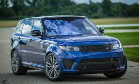 range rover svr 2016 2016 land rover range rover sport svr cars exclusive videos and