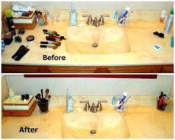 Bathroom Countertop Storage Bathroom Countertop Storage Bathroom Counter Organization Ideas