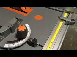 Ridgid Table Saw Review My In Depth Review Of The Ridgid R4513 Table Saw Youtube