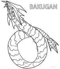 printable bakugan coloring pages kids cool2bkids