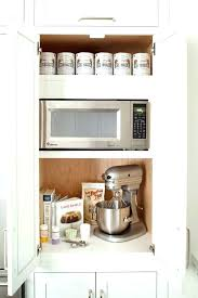kitchen appliance storage ideas ideas for kitchen without pantry appliance storage ideas small