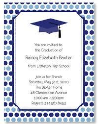 graduation cap invitations blue slate graduation cap invitations myexpression 20108
