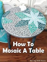 how to make a mosaic table top how to make a mosaic table us1 me