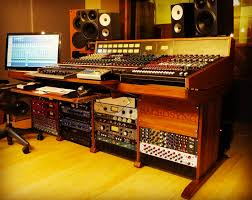 Studio Mixer Desk by Quality 19 Inch Racks Cabinets For Modular Synthesizers