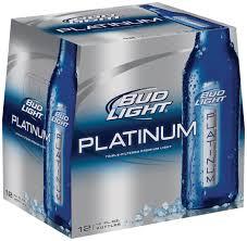 Bud Light Aluminum Bottle Bud Light Platinum Launches New Reclosable Aluminum Bottle In Las