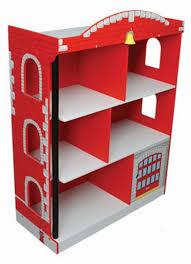 Kidcraft Bookcase Kidkraft Firehouse Bookcase