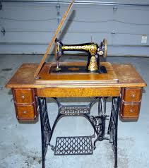 Singer Kitchen Cabinets by Antique Singer Sewing Machine In Cabinet For Sale Antique Furniture