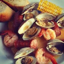 a traditional clam bake on the grill char broil