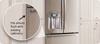 cabinet depth refrigerator dimensions french door refrigerators ge appliances