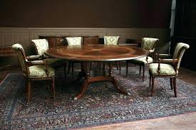 how many does a 48 inch round table seat 48 inch round table 60 dark walnut finish how many people can sit 48