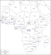 Blank Map Of Africa by Outline Maps Of The World U2013 Subratachak