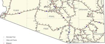 Arizona Maps by Az Milepost Maps