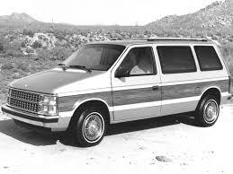 dodge caravan 1984 pictures information u0026 specs