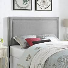 better homes and gardens full queen headboard with border and