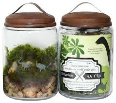 jurassic in a jar diy terrarium from twig is a great gift for dino