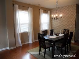 Dining Room Curtains Dining Room Home Design Top Dining Room Bay Window Curtain Ideas On Remodel
