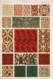 a gramática do ornamento owen jones e as cores na decoração