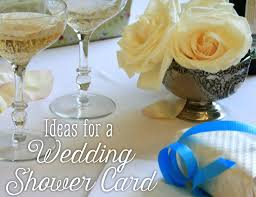 Kitchen Tea Gift Ideas For Guests What To Write On A Wedding Shower Card Holidappy