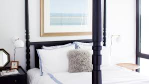 bedroom decorating ideas for a modern bachelorette martha stewart