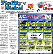thrifty nickel apr 24 by billings gazette issuu