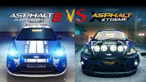 Asphalt by Asphalt 8 Vs Xtreme Graphics Comparison Youtube