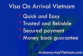 vietnam visa on arrival make my visa vietnam