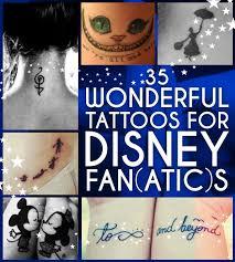 35 wonderful tattoos for disney fan atic s disney tattoos and
