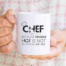 chef gifts chef funny mugs cook presents graduation retirement