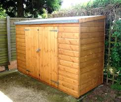 Small Wood Storage Shed Plans by 8x10 Wooden Storage Shed In Pawooden Garden Kits Nz Small Sheds