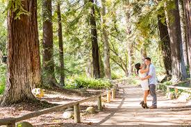 Botanic Garden Santa Barbara Santa Barbara Engagement Session Orange County Wedding