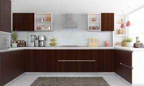 kitchens without islands outstanding contemporary u shaped kitchen without island design
