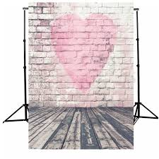 wedding backdrop accessories theme heart photography backdrop vinyl photo background