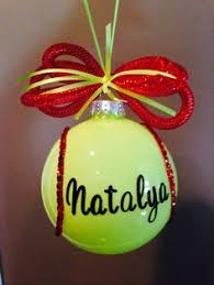 Softball Christmas Ornament - softball hoodie softball sweatshirt softball mom by fleurdebling