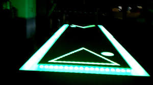 Custom Beer Pong Tables by Led Beer Pong Table With Ball Washers And Moat Youtube