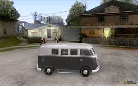volkswagen camper inside volkswagen transporter t1 camper for gta san andreas