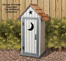 other yard u0026 garden projects small outhouse wood project plans