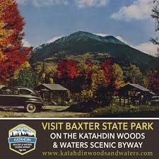 Baxter State Park Map by Baxter State Park Announces The Opening Day Reservations For