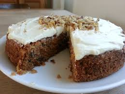 carrot cake with walnuts from ottolenghi patesserie