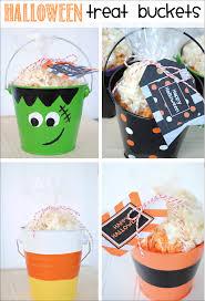Free Printables Halloween by Halloween Treat Buckets U0026 Printable Halloween Gift Tags