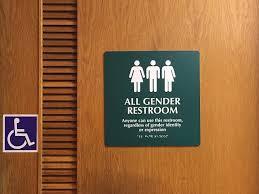 Gender Neutral Bathrooms - student senate works on bringing more gender neutral bathrooms to