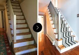 How To Paint Stair Banisters Our Diy Stair Makeover Paint Runner U2013 Design Sponge